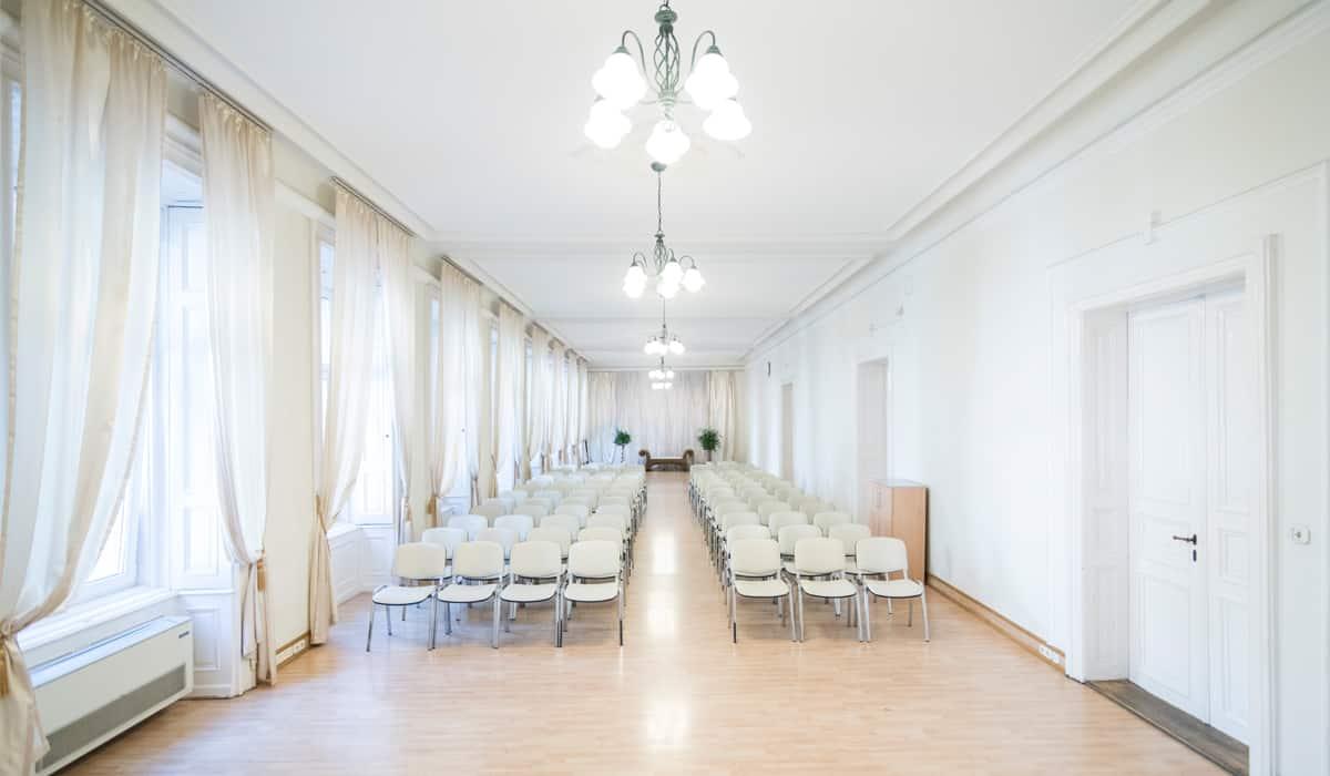 Konferenciaterem bérlés Budapest belvárosában a Harmónia Palotában