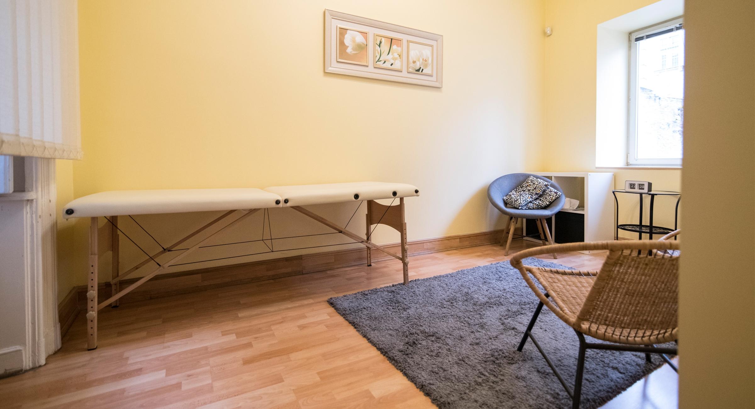 Konzultációs, kezelő szoba Budapest Belvárosában - Harmónia Palota