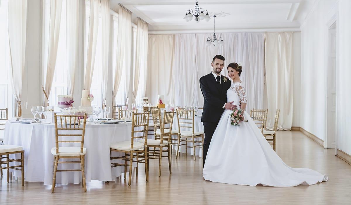 Esküvő Budapest belvárosában a Harmónia Palotában